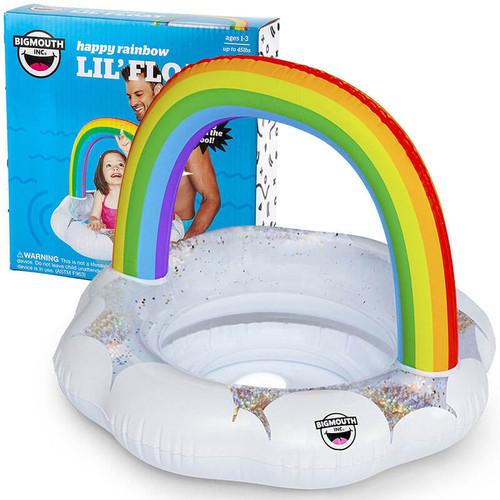 Lil' Rainbow Kiddie Pool Float