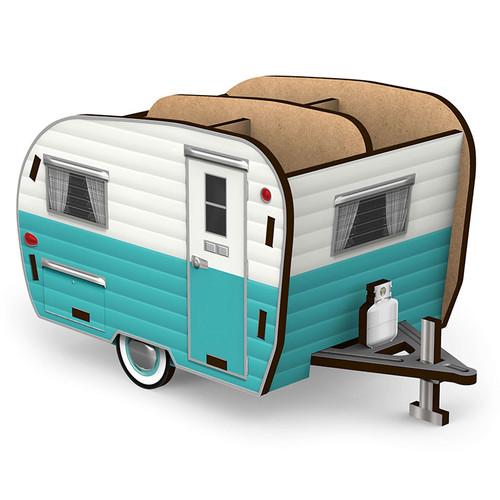 Happy Camper- Happy Desk