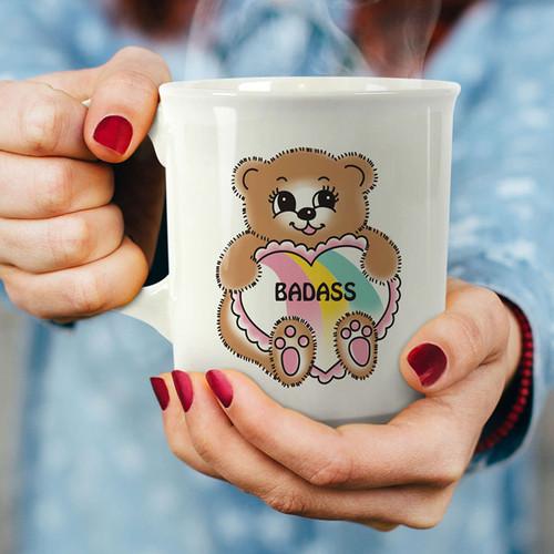 Say Anything Mug - Badass Teddy Bear