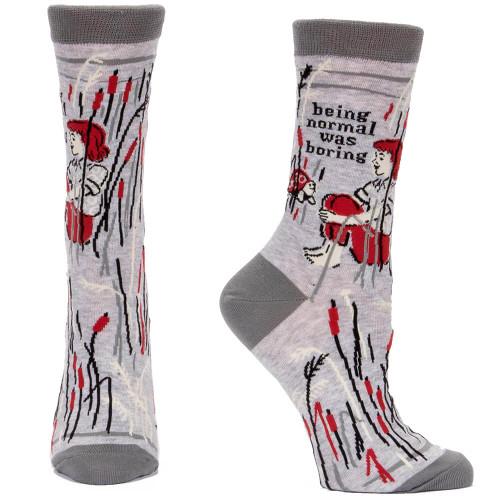 Being Normal Was Boring Socks