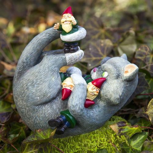The Cat Garden Gnome Massacre