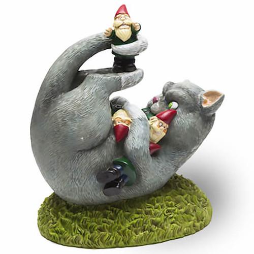 Cat Lady Garden Gnome Massacre