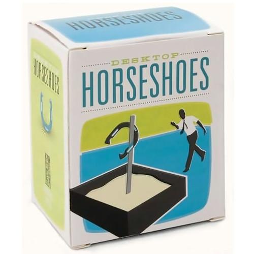 Desktop Horseshoes Kit For Your Desk - Cube Goodie