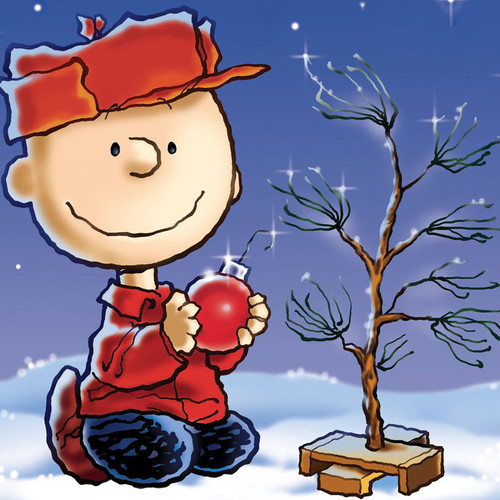 A Charlie Brown Christmas Wooden Mini Collectible Set