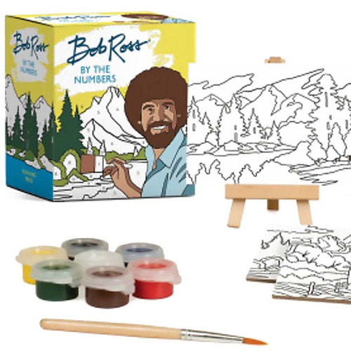 Bob Ross Paint By Numbers