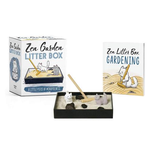 Zen Garden Cat Litter Box