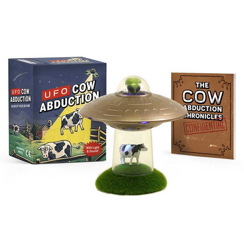 UFO Cow Abduction with lights and sounds