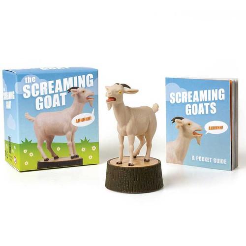 Funny Screaming Goat Gift