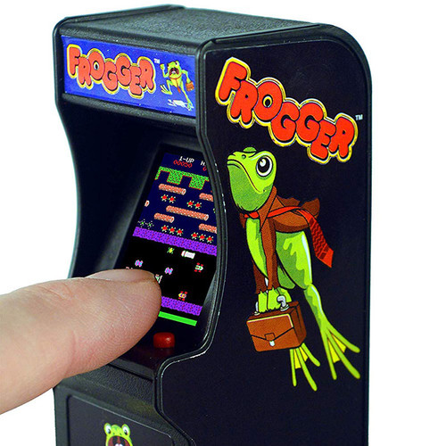 Frogger Tiny Arcade Stocking Stuffer