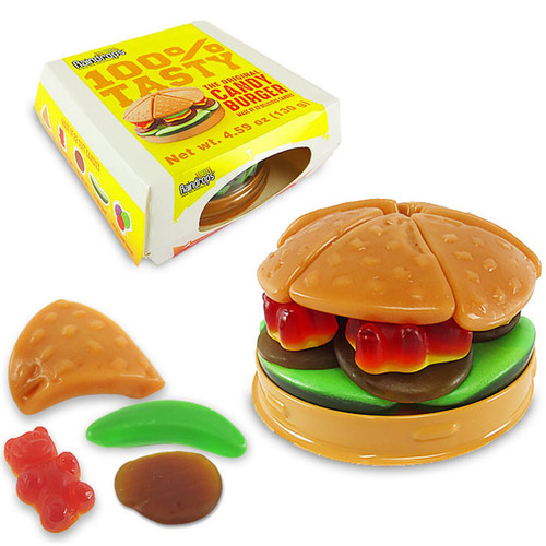 Raindrops Hamburger Gummy Candy