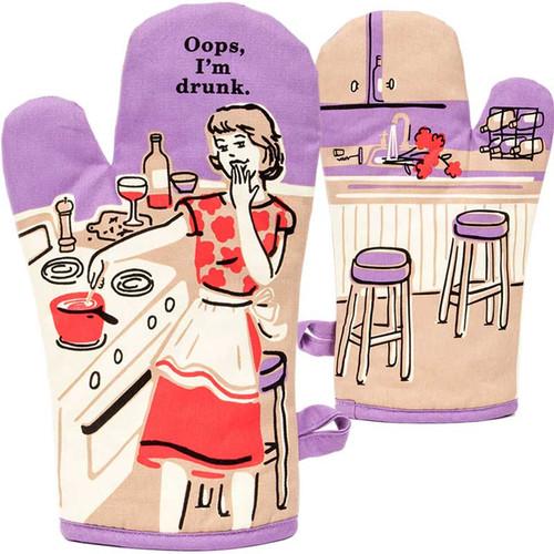 Hostess Gift Oops, I'm Drunk Oven Mitt