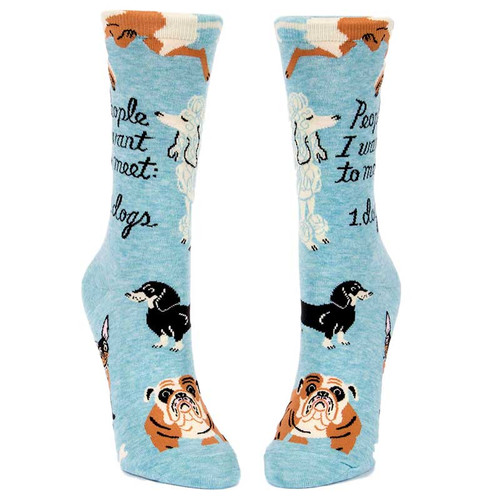 People I Want To Meet: Dogs. Socks