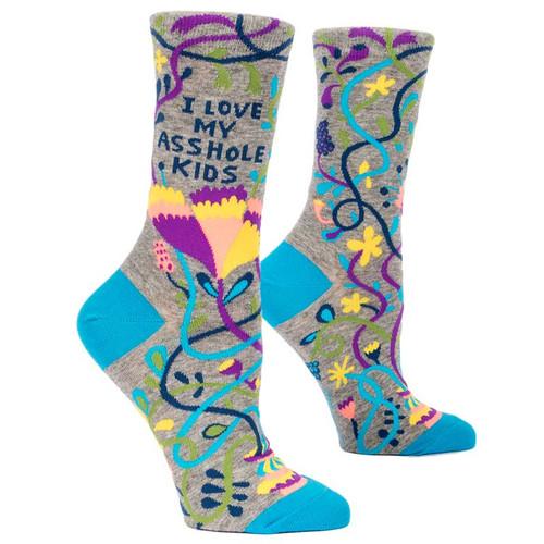 I Love My Asshole Kids Socks