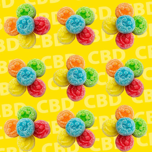 CBD Sour Gummy Edibles