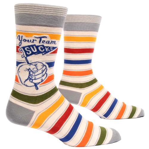 Your Team Sucks Men's Socks