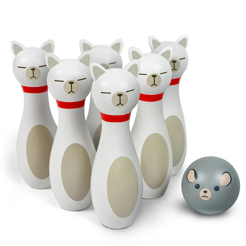 Buy Bowling Alley Cat Game 728987033032