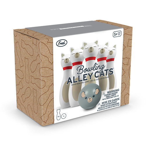 Bowling Alley Cats Bowling Game Packaging