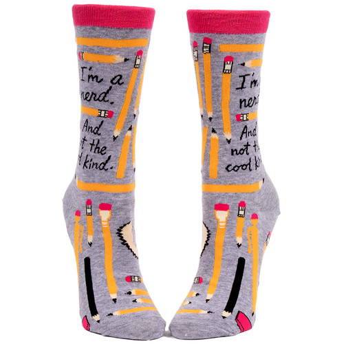 I'm A Nerd. And Not The Cool Kind Women's Socks