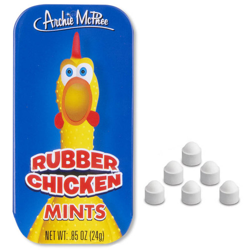 Purchase Funny Rubber Chicken Mints