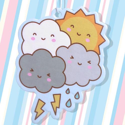 Kawaii Friendly Weather Air Freshener