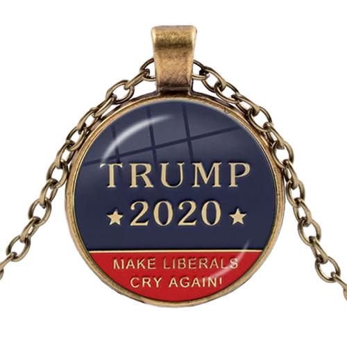 Trump 2020 Necklace Make Liberals Cry Again