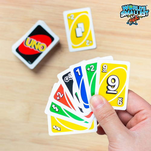 Purchase Official World's Smallest Uno Card Game