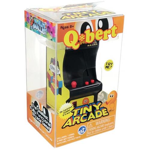 Tiny Arcade Qbert Keychain