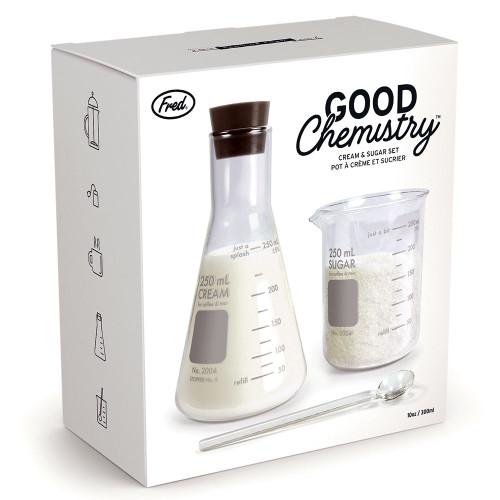 Good Chemistry Cream And Sugar Set Gift Box