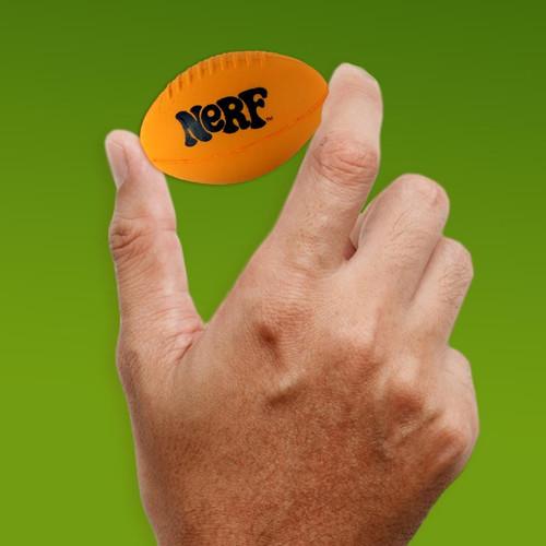 World's Smallest Nerf Football