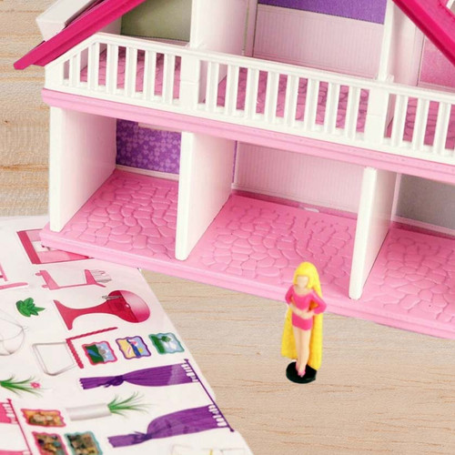 Include Stickers! World's Smallest Barbie Dreamhouse