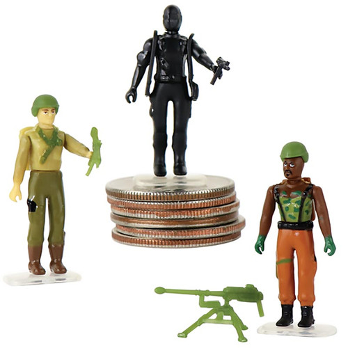 World's Smallest GI Joe vs Cobra Micro Action Figure