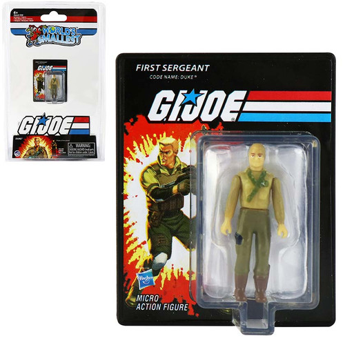 World's Smallest GI Joe Duke