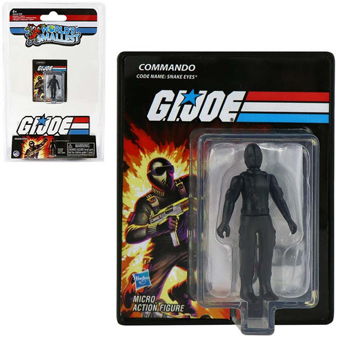 World's Smallest GI Joe Snake Eye