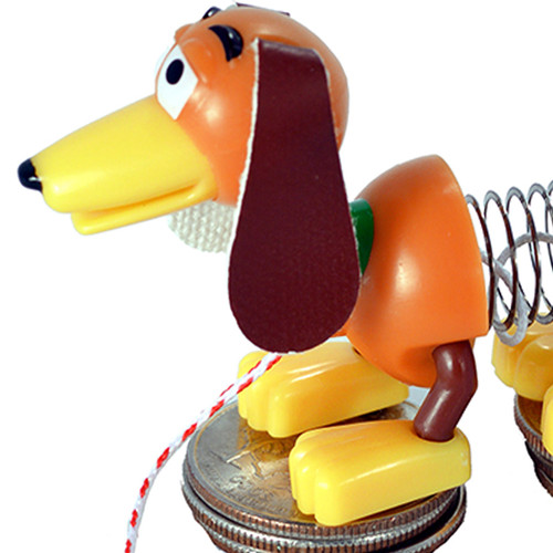 World's Smallest Slinky Dog from Toy Story