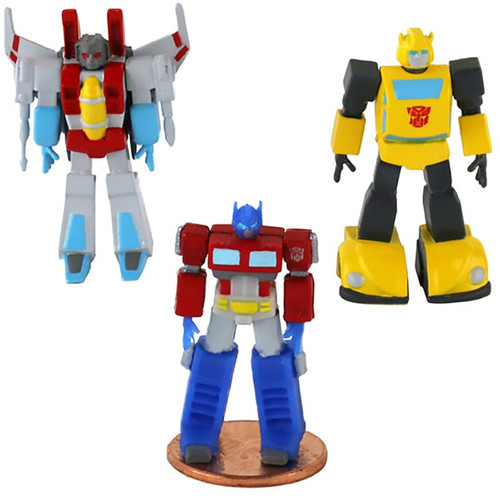 Transformers Micro Action Figures - World's Smallest Transformer