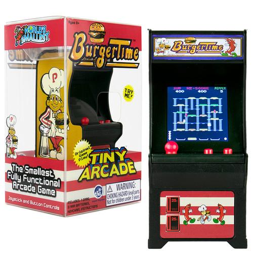 Tiny Arcade Burger Time World's Smallest