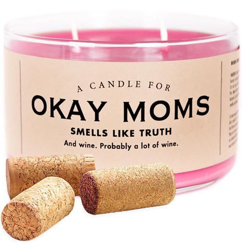 Okay Moms Whiskey River Candle