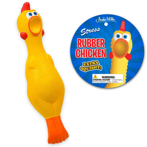 Rubber Chicken Stress Ball
