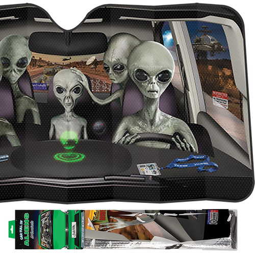 Archie Mphee Car Full Of Aliens