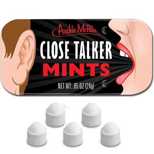 Close Talker Mints   Weird Candy by Archie McPhee