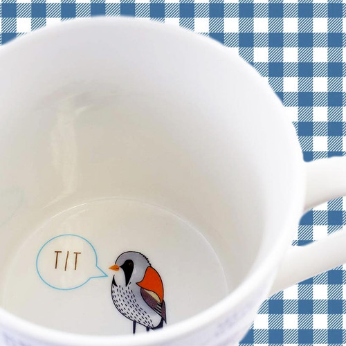 Fowl Language Mug - Tit Bird