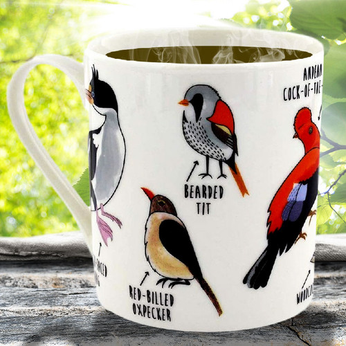 Ginger Fox Fowl Language Bird Mug