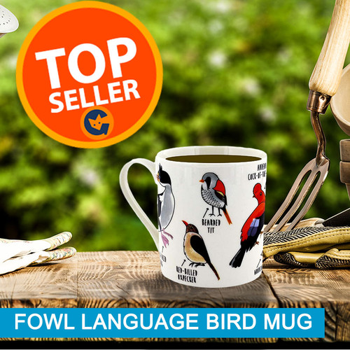 Fowl Language Bird Mug - Purchase