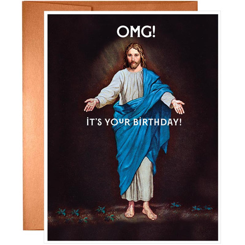 OMG! It's Your Birthday Card