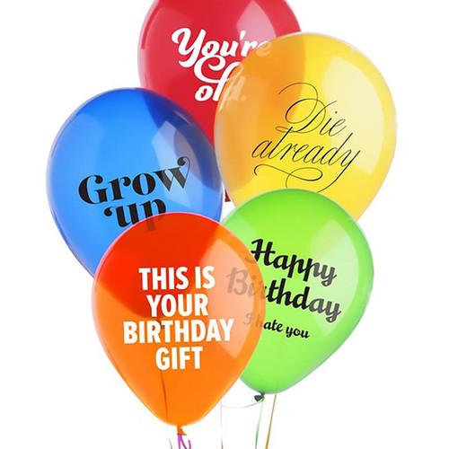 Birthday Balloons For Jerks