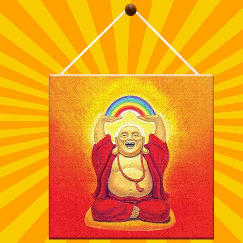 Buddha Greeting Card is truly a piece of art.
