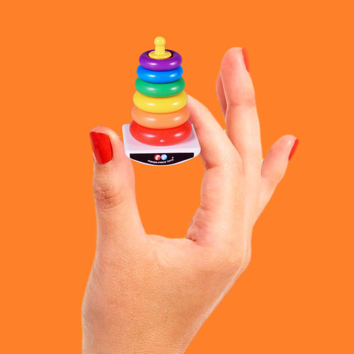 Official World's Smallest Fisher-Price Rock-A-Stack
