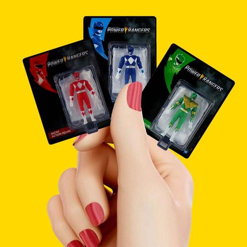 World's Smallest Power Rangers Micro Action Figures