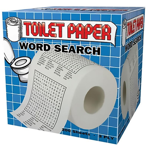 Word Search Toilet Paper