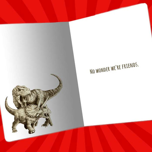 Your My Kind Of Twisted Friendship Greeting Card